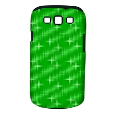 Many Stars, Neon Green Samsung Galaxy S Iii Classic Hardshell Case (pc+silicone) by ImpressiveMoments