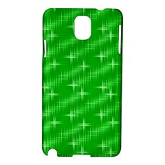 Many Stars, Neon Green Samsung Galaxy Note 3 N9005 Hardshell Case by ImpressiveMoments