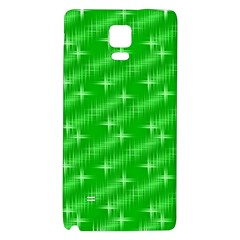 Many Stars, Neon Green Galaxy Note 4 Back Case by ImpressiveMoments