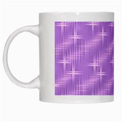 Many Stars, Lilac White Mugs