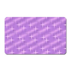 Many Stars, Lilac Magnet (Rectangular)