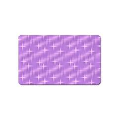 Many Stars, Lilac Magnet (Name Card)
