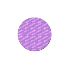 Many Stars, Lilac Golf Ball Marker (4 pack)
