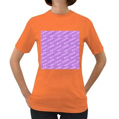Many Stars, Lilac Women s Dark T-Shirt