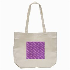 Many Stars, Lilac Tote Bag (Cream)