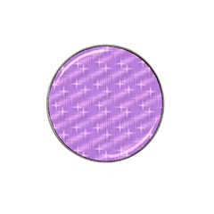 Many Stars, Lilac Hat Clip Ball Marker (4 pack)