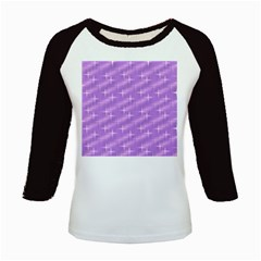 Many Stars, Lilac Kids Baseball Jerseys