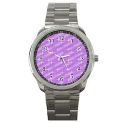 Many Stars, Lilac Sport Metal Watches