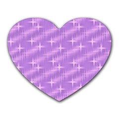 Many Stars, Lilac Heart Mousepads