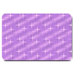 Many Stars, Lilac Large Doormat