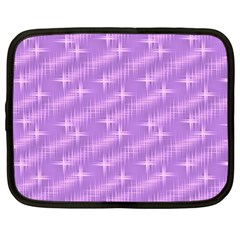 Many Stars, Lilac Netbook Case (Large)