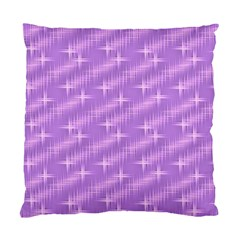 Many Stars, Lilac Standard Cushion Case (One Side)