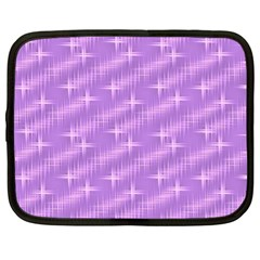 Many Stars, Lilac Netbook Case (XL)