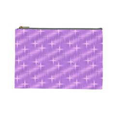 Many Stars, Lilac Cosmetic Bag (Large)