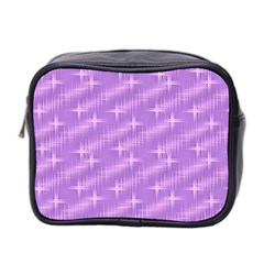 Many Stars, Lilac Mini Toiletries Bag 2-Side