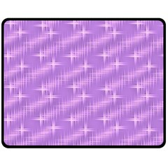 Many Stars, Lilac Fleece Blanket (Medium)