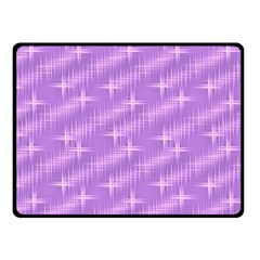 Many Stars, Lilac Fleece Blanket (Small)