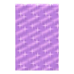 Many Stars, Lilac Shower Curtain 48  x 72  (Small)