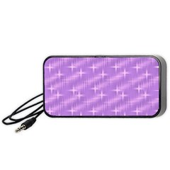 Many Stars, Lilac Portable Speaker (Black)