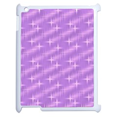 Many Stars, Lilac Apple iPad 2 Case (White)