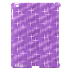 Many Stars, Lilac Apple iPad 3/4 Hardshell Case (Compatible with Smart Cover)