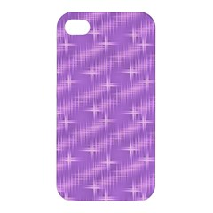 Many Stars, Lilac Apple iPhone 4/4S Premium Hardshell Case