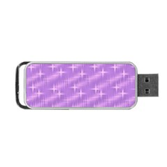 Many Stars, Lilac Portable USB Flash (One Side)