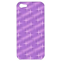 Many Stars, Lilac Apple iPhone 5 Hardshell Case