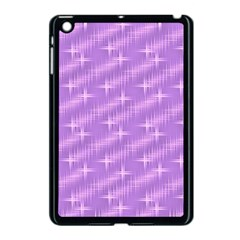 Many Stars, Lilac Apple iPad Mini Case (Black)