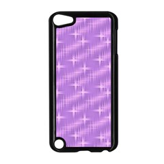 Many Stars, Lilac Apple iPod Touch 5 Case (Black)