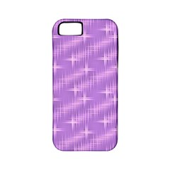 Many Stars, Lilac Apple iPhone 5 Classic Hardshell Case (PC+Silicone)