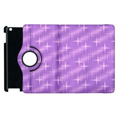 Many Stars, Lilac Apple iPad 2 Flip 360 Case