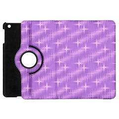 Many Stars, Lilac Apple iPad Mini Flip 360 Case