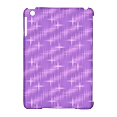 Many Stars, Lilac Apple iPad Mini Hardshell Case (Compatible with Smart Cover)