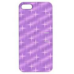 Many Stars, Lilac Apple iPhone 5 Hardshell Case with Stand