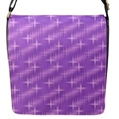 Many Stars, Lilac Flap Messenger Bag (S)