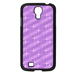 Many Stars, Lilac Samsung Galaxy S4 I9500/ I9505 Case (Black)
