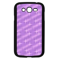 Many Stars, Lilac Samsung Galaxy Grand DUOS I9082 Case (Black)