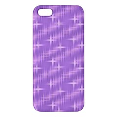 Many Stars, Lilac iPhone 5S Premium Hardshell Case