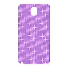 Many Stars, Lilac Samsung Galaxy Note 3 N9005 Hardshell Back Case
