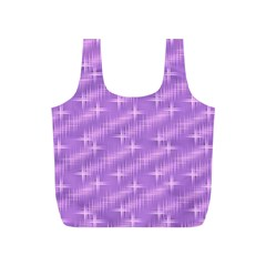 Many Stars, Lilac Full Print Recycle Bags (s)  by ImpressiveMoments