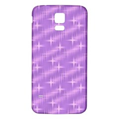 Many Stars, Lilac Samsung Galaxy S5 Back Case (White)