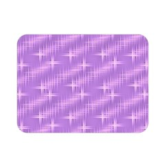 Many Stars, Lilac Double Sided Flano Blanket (Mini)