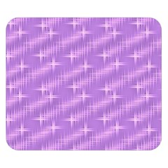 Many Stars, Lilac Double Sided Flano Blanket (Small)