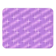 Many Stars, Lilac Double Sided Flano Blanket (Large)