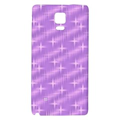 Many Stars, Lilac Galaxy Note 4 Back Case