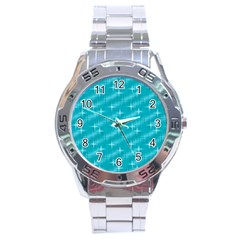 Many Stars,aqua Stainless Steel Men s Watch by ImpressiveMoments