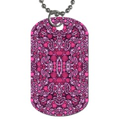 Crazy Beautiful Abstract  Dog Tag (one Side) by OCDesignss