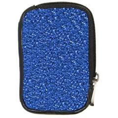 Sparkling Glitter Blue Compact Camera Cases by ImpressiveMoments