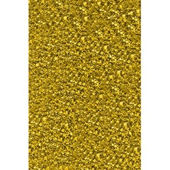 Sparkling Glitter Golden 5 5  X 8 5  Notebooks
